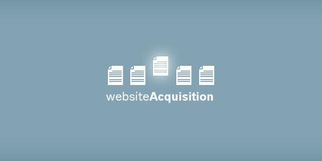 Website Acquisition